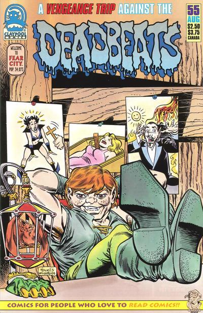 Cover for Deadbeats (Claypool Comics, 1993 series) #55