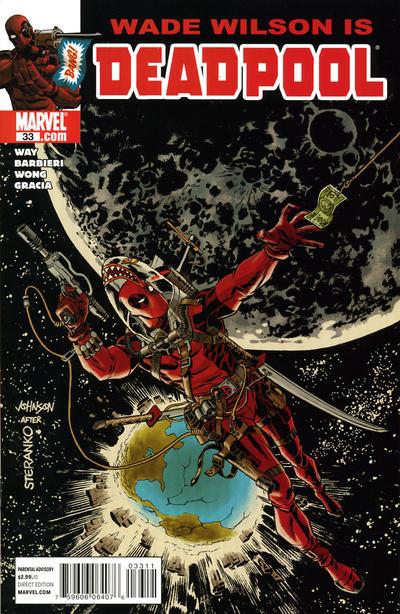 Cover for Deadpool (Marvel, 2008 series) #33