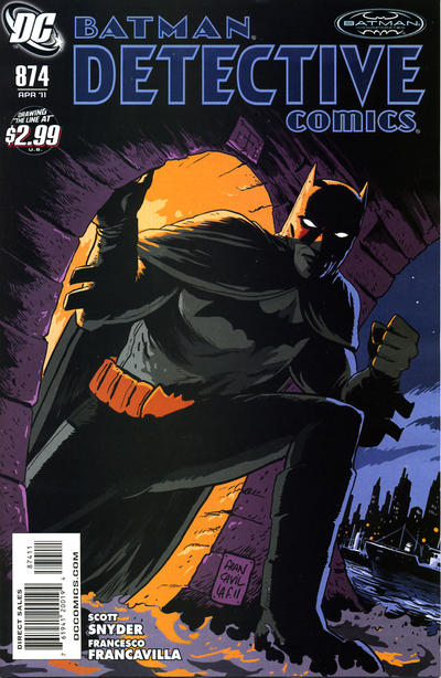 Cover for Detective Comics (DC, 1937 series) #874