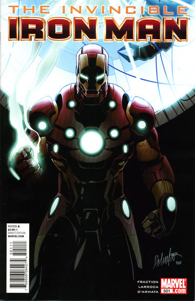 Cover for Invincible Iron Man (Marvel, 2008 series) #501 [Variant Edition]