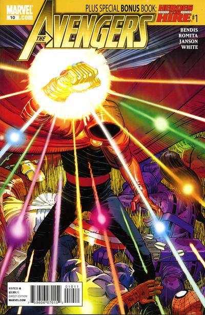 Cover for Avengers (Marvel, 2010 series) #10