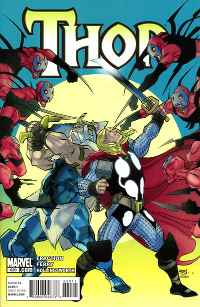 Cover for Thor (Marvel, 2007 series) #620