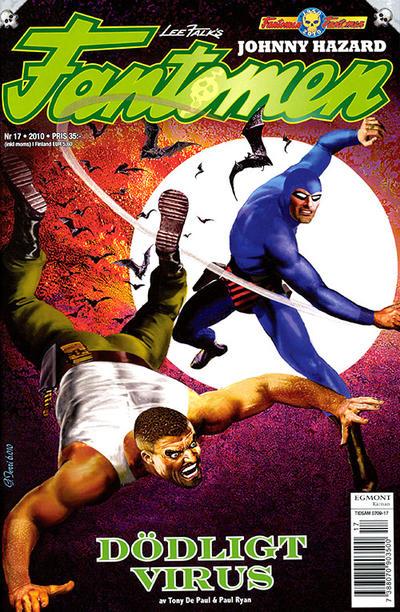 Cover for Fantomen (Egmont, 1997 series) #17/2010