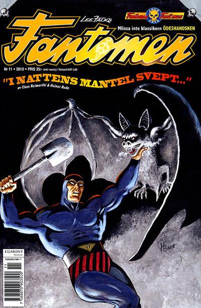 Cover for Fantomen (Egmont, 1997 series) #11/2010