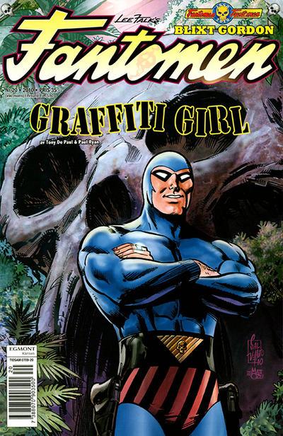 Cover for Fantomen (Egmont, 1997 series) #20/2010