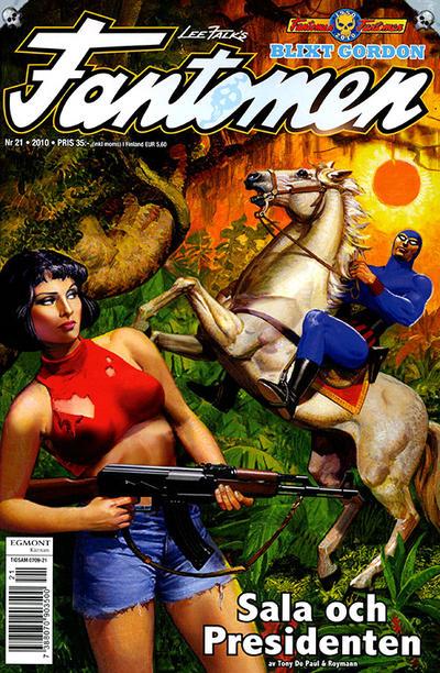 Cover for Fantomen (Egmont, 1997 series) #21/2010