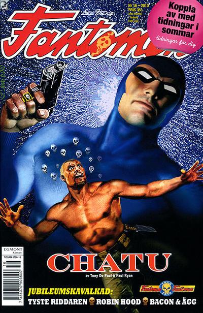 Cover for Fantomen (Egmont, 1997 series) #16/2010