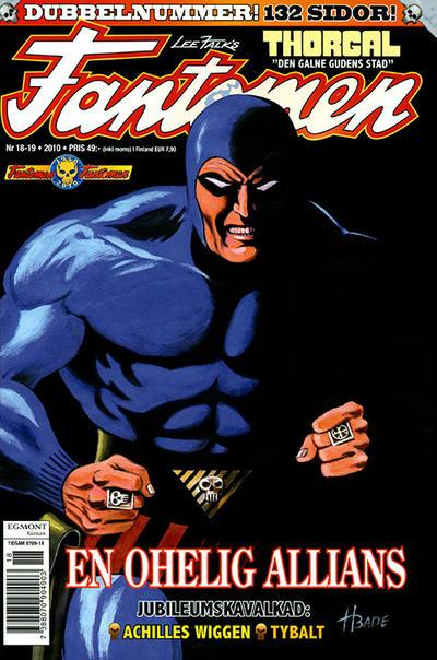 Cover for Fantomen (Egmont, 1997 series) #18-19/2010