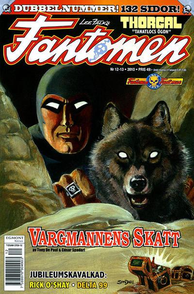 Cover for Fantomen (Egmont, 1997 series) #12-13/2010