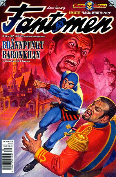 Cover for Fantomen (Egmont, 1997 series) #10/2010