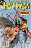 Cover Thumbnail for Hawkman (1986 series) #1 [Newsstand]