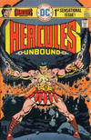 Cover for Hercules Unbound (DC, 1975 series) #1