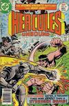 Cover for Hercules Unbound (DC, 1975 series) #10