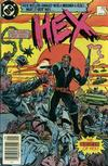 Cover for Hex (DC, 1985 series) #1 [Newsstand]