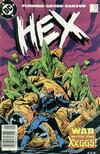 Cover for Hex (DC, 1985 series) #17 [Newsstand]