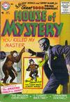 Cover for House of Mystery (DC, 1951 series) #55