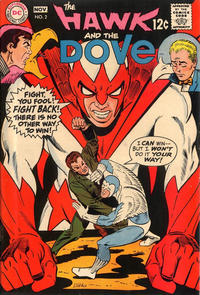 Cover Thumbnail for The Hawk and the Dove (DC, 1968 series) #2
