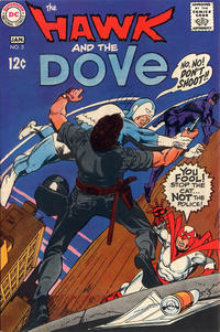 Cover Thumbnail for The Hawk and the Dove (DC, 1968 series) #3