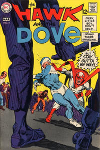 Cover Thumbnail for The Hawk and the Dove (DC, 1968 series) #4