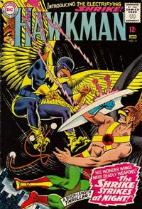 Cover Thumbnail for Hawkman (DC, 1964 series) #11