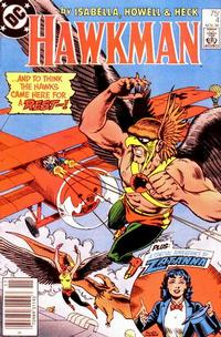 Cover Thumbnail for Hawkman (DC, 1986 series) #4 [Newsstand]