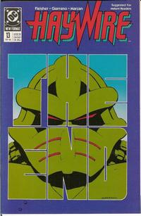 Cover Thumbnail for Haywire (DC, 1988 series) #13