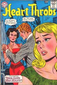 Cover Thumbnail for Heart Throbs (DC, 1957 series) #86