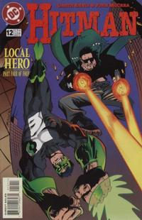 Cover for Hitman (DC, 1996 series) #12
