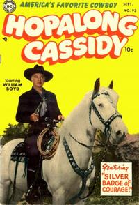 Cover Thumbnail for Hopalong Cassidy (DC, 1954 series) #93