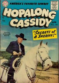 Cover Thumbnail for Hopalong Cassidy (DC, 1954 series) #100