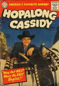 Cover Thumbnail for Hopalong Cassidy (DC, 1954 series) #101