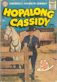Cover for Hopalong Cassidy (DC, 1954 series) #102