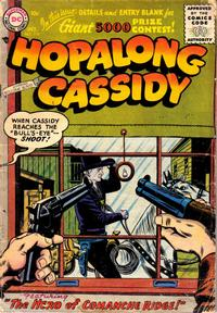 Cover Thumbnail for Hopalong Cassidy (DC, 1954 series) #118