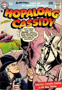 Cover Thumbnail for Hopalong Cassidy (DC, 1954 series) #123