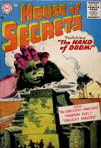 Cover Thumbnail for House of Secrets (DC, 1956 series) #1