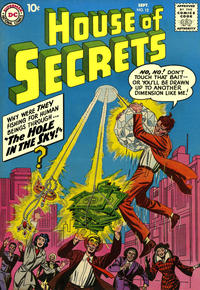 Cover Thumbnail for House of Secrets (DC, 1956 series) #12