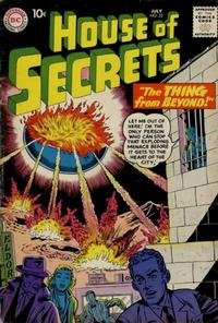 Cover Thumbnail for House of Secrets (DC, 1956 series) #22