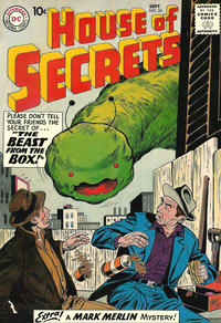 Cover Thumbnail for House of Secrets (DC, 1956 series) #24