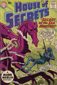 Cover Thumbnail for House of Secrets (DC, 1956 series) #25