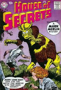 Cover Thumbnail for House of Secrets (DC, 1956 series) #28