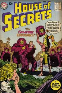 Cover Thumbnail for House of Secrets (DC, 1956 series) #36