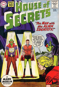 Cover Thumbnail for House of Secrets (DC, 1956 series) #42