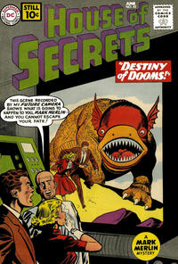 Cover Thumbnail for House of Secrets (DC, 1956 series) #45
