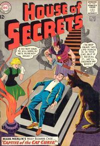 Cover Thumbnail for House of Secrets (DC, 1956 series) #60
