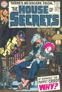 Cover Thumbnail for House of Secrets (DC, 1969 series) #86