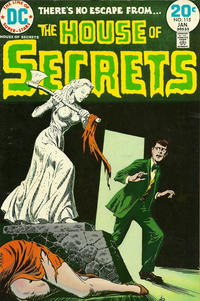 Cover Thumbnail for House of Secrets (DC, 1969 series) #115