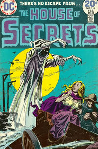 Cover Thumbnail for House of Secrets (DC, 1969 series) #116