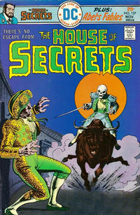 Cover Thumbnail for House of Secrets (DC, 1969 series) #137