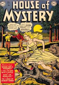 Cover Thumbnail for House of Mystery (DC, 1951 series) #1