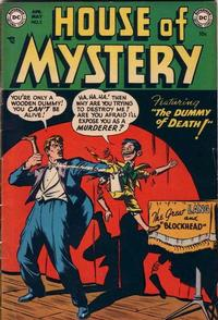 Cover Thumbnail for House of Mystery (DC, 1951 series) #3